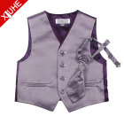 4 buttons new children's western vests boys suit wedding vest