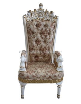 Luxury Style Hotel High Back King Throne Chair XYN695