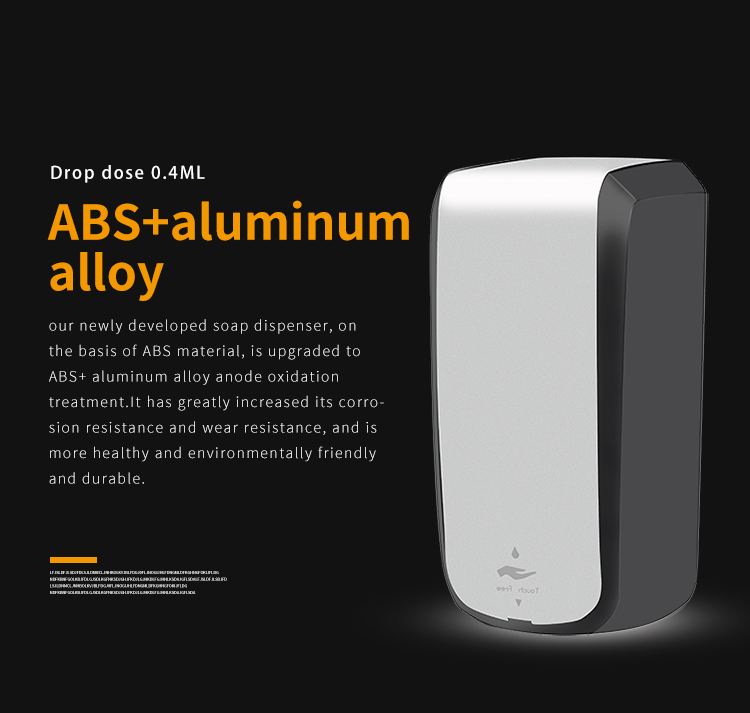 Luxury infrared induction disposable bag soap dispenser mounted foam auto soap dispenser