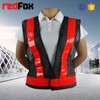 designed black reflective 3m traffic safety vest