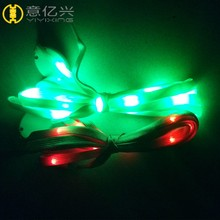Promotion Print Shoe Laces, Led Shoe Laces Charm,Plastic Lock Led Shoe Lace