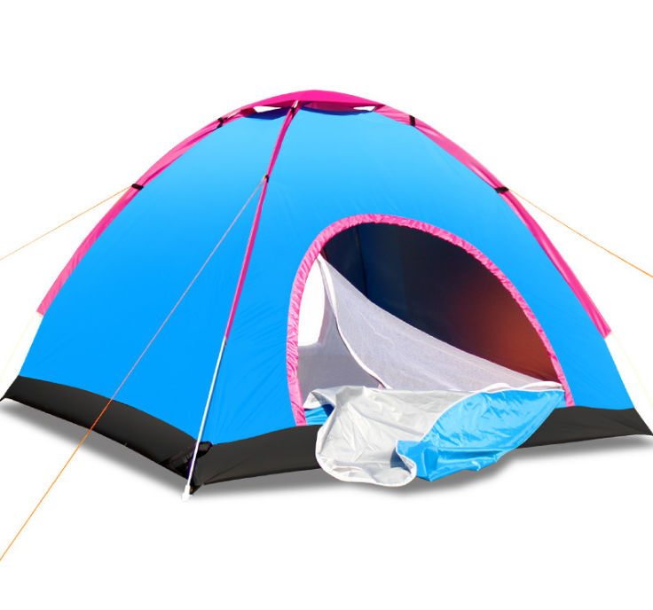 3-4 Person waterproof family hiking automatic Camping <strong>tent</strong>
