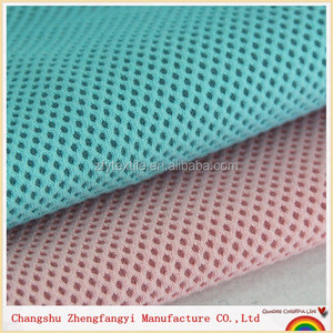 cotton mesh fabric, 2018 newset fashion mesh fabric,soft 3d spacer mesh fabric