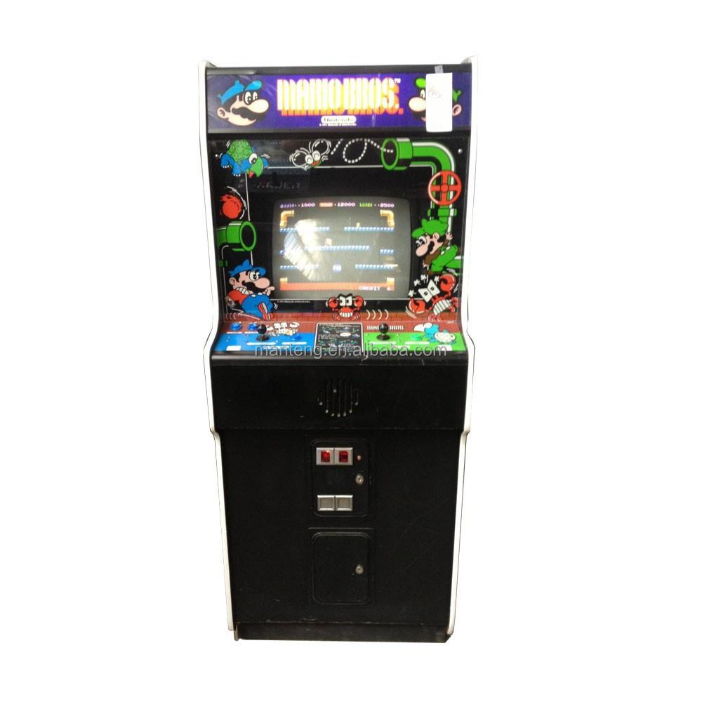 vertical upright arcade machine