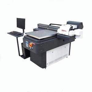 automatic Digital Metal UV Printer A1 size Flatbed Aluminum Copper Industry Sign PVC card bottle phone case Printing Machine