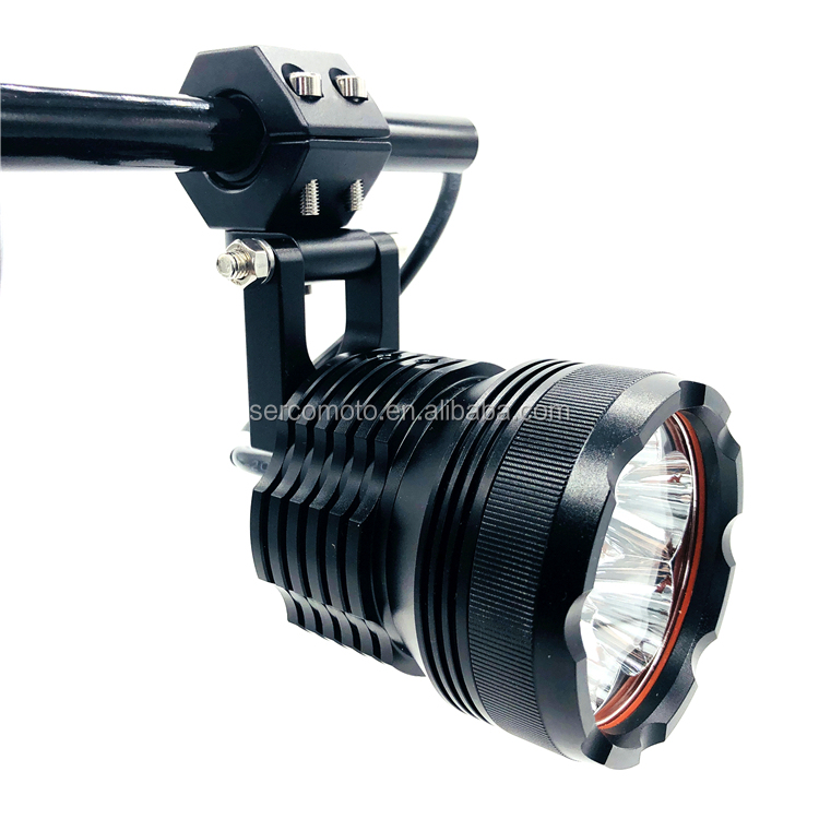 IP67 led headlights motorcycles 12v 60w high beam motorcycle driving light 6LEDs led lights spot lights