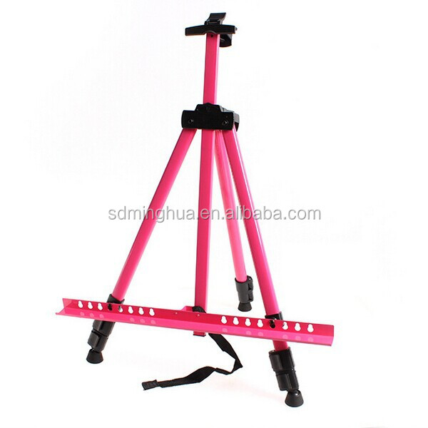 high quality colorful metal easel stand display stand sketch easel manufacturer from linyi,China