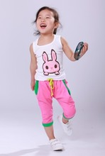 Free shipping boys and girls fashion children T shirt for summer 100 cotton cute baby t