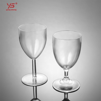 Top-level latest design wine glass caddy,unbreakable polycarbonate wine glasses for wine