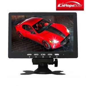 USB LED Monitor 7 inch taxi/car lcd advertising headrest monitor