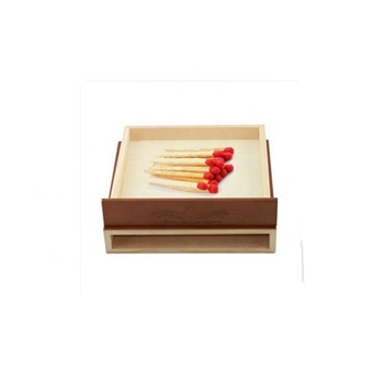 Household Wood Matches Box Wooden Safety Match Boxes