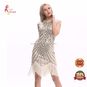 2b114b8e6 BestDance mujer 1920 s 20 s 30 s vestido de fiesta aleta traje Charleston  FIESTA DE