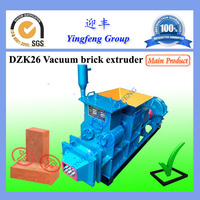 Machine Manufacturers yingfeng DZK26 used clay brick machine for sale