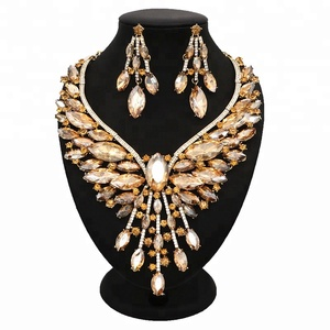 40570baae3152 Indian Cubic Zirconia Diamond Jewelry Necklace Set, Indian Cubic ...