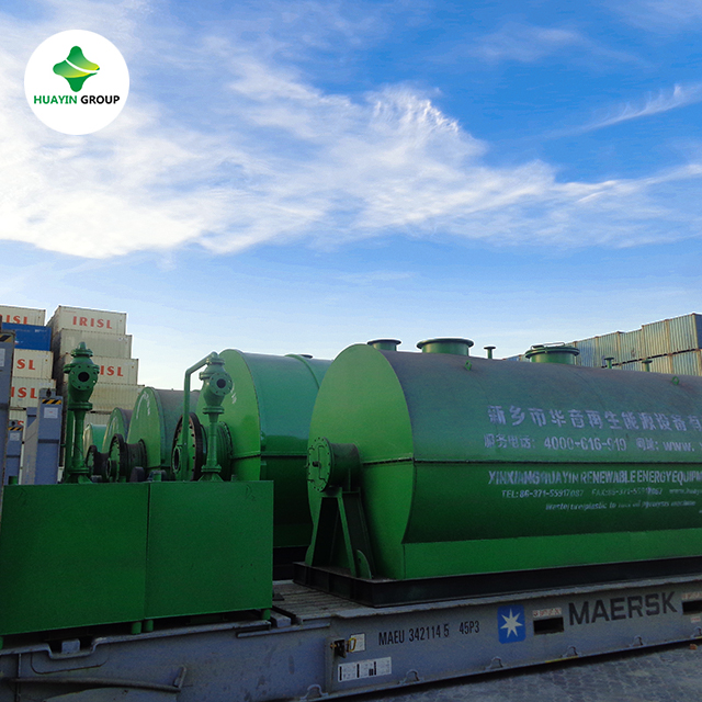 The Latest Technology Tyre Recycling Plant Tire Pyrolysis To Oil Diesel Without Smoke