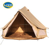 Wholesale 3m,4m, 5m,6m Outdoor Waterproof Canvas Teepee Mongolian Bell Tent