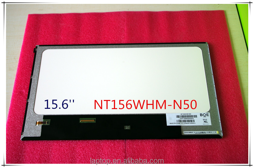 New 15.6'' Slim NT156WHM-N50 LCD Display For Laptop 1366*768 LVDS 40Pins NT156WHM-N50 LCD Screen Display Panel