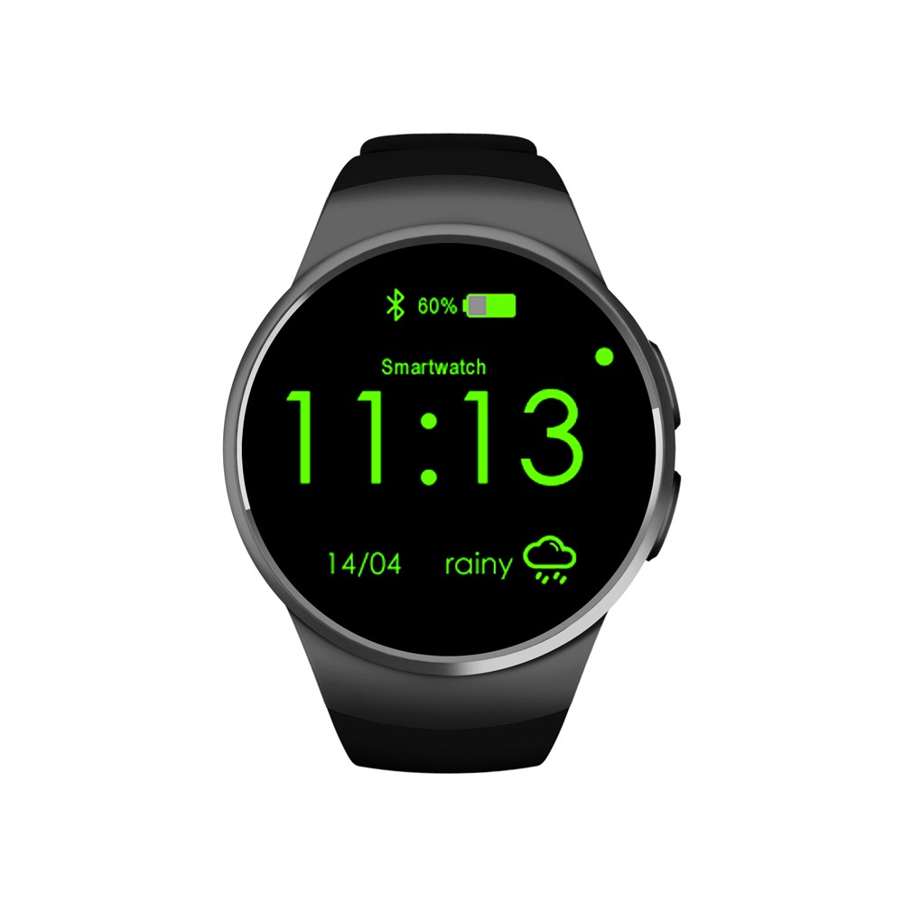 2017 factory direct watches KW18 smart watch heart rate monitor kw18 sim card