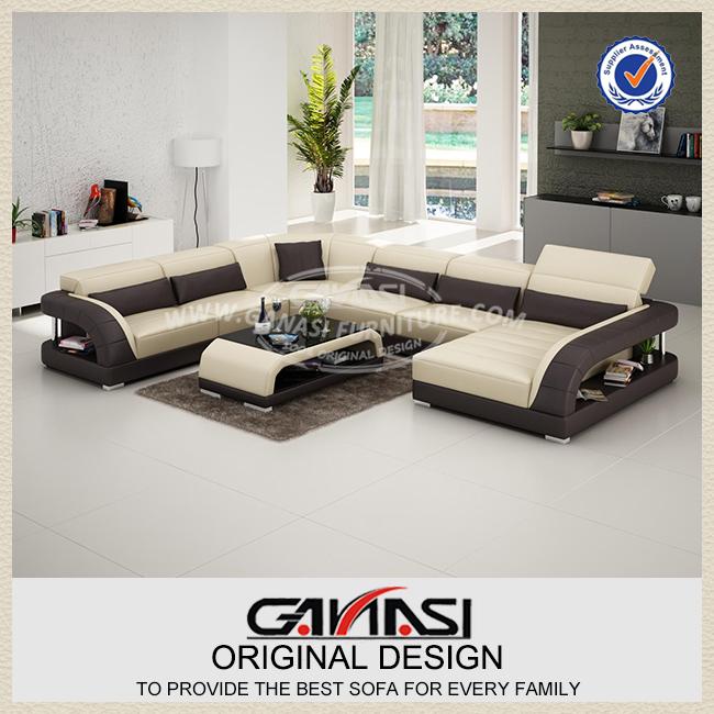 Dubaï canapé en cuir meubles fait à Foshan-Canapé salon-ID de ...