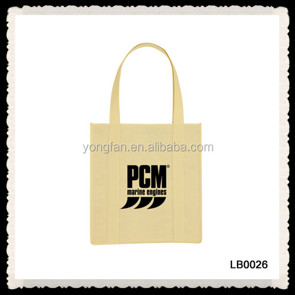 Cheap Fashion Cloth Bags With Logo Tote Non Woven Bags Manufacture