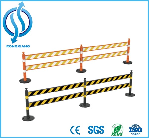 Delineator Post Assemble Board Barrier System Crowd Control Barricade and Vehicle Traffic Barrier