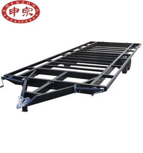 Truck trailer use mobile house trailer frame 3.5ton