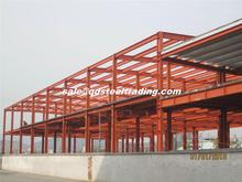 large span steel structure shed design with high quality