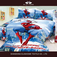 Ultraman boys cotton reactive print 3D children design quilt/duvet cover set/comforter/flat sheet