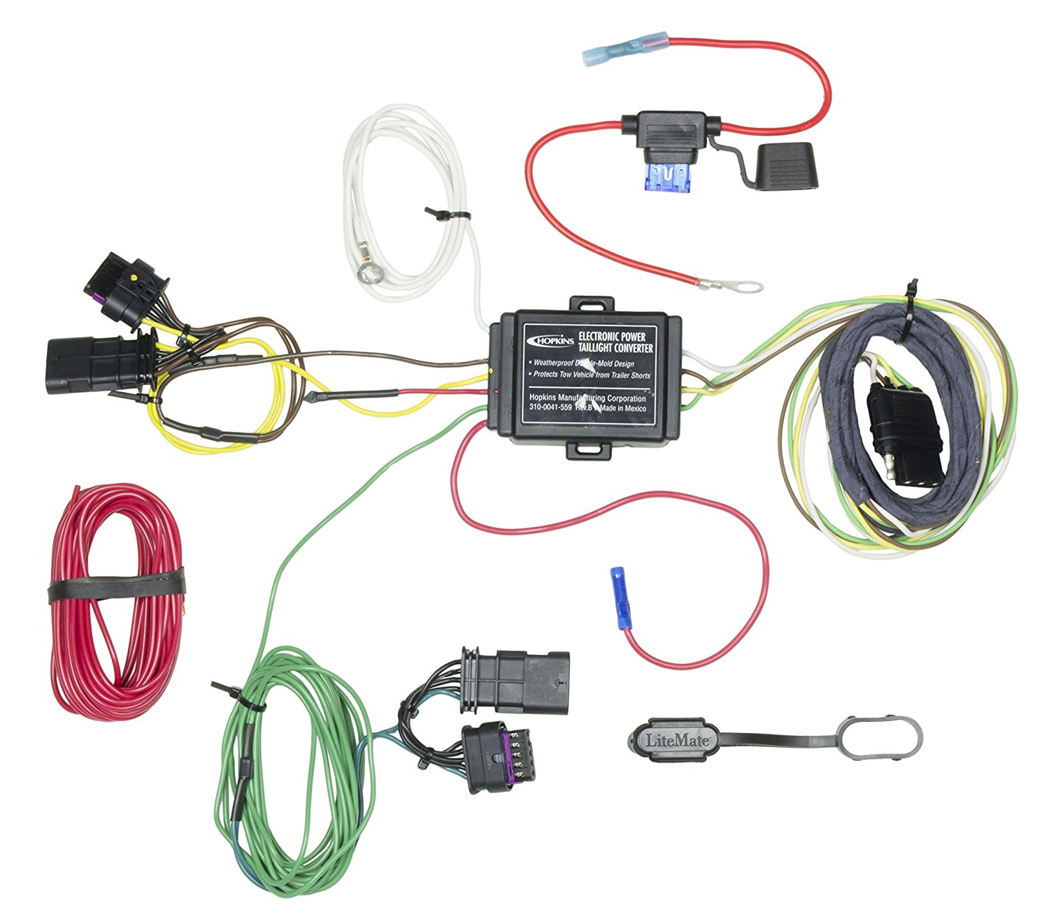 Buy Hopkins 42134 Jeep Renegade Plug In Simple Trailer Wiring Kit Connector