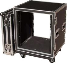 2u amp/mixer rack flight case 19 inch rack flight cases