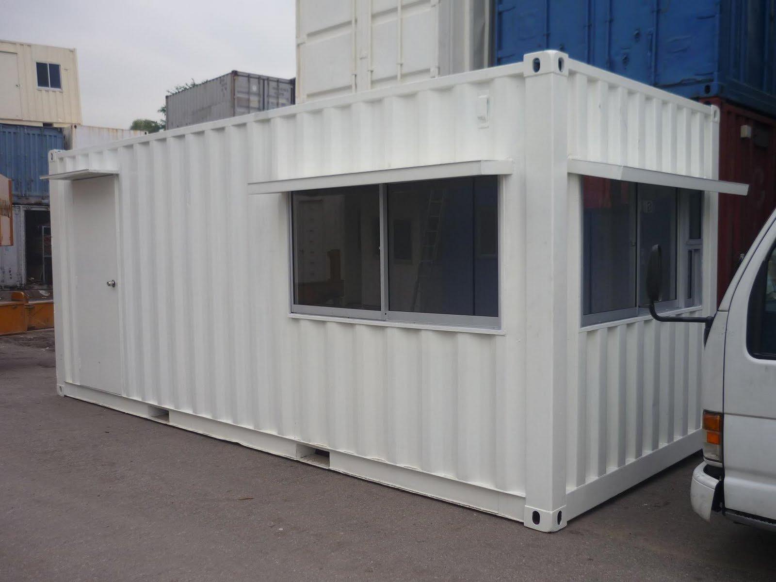 Oficina de contenedores containers identificaci n del for Container oficina