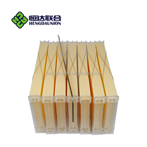 7 pcs plastic Bee hive frames for flow bee hive