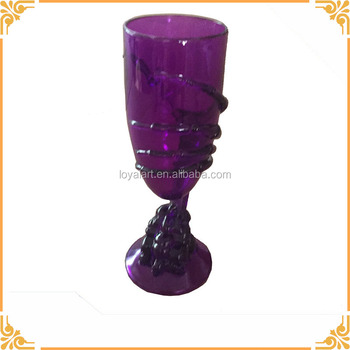 Skeleton skull claw gothic halloween horror plastic goblet prop party decoration buy halloween - Plastic medieval goblets ...