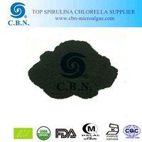 natural green powder for fish feeding