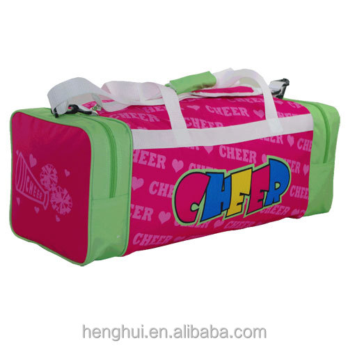 Colorful Personalized Monogrammed dance travel duffel bag