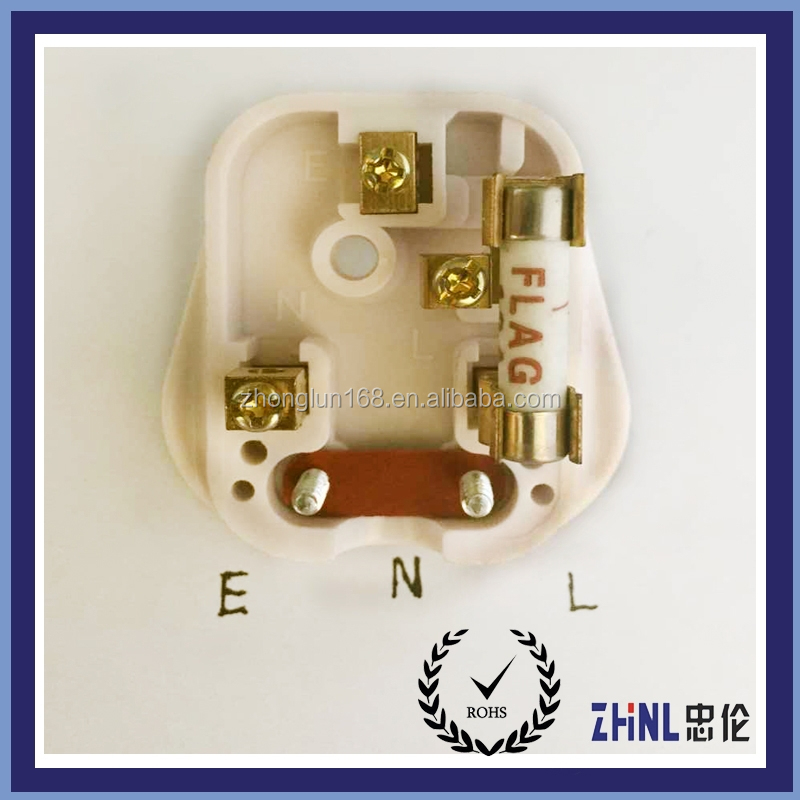 High quality British 13A plug accessories 3 square pin component