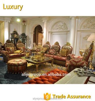 Aliye Royal Luxury Arab Middle East Style Leather Living Room Furniture  Sofa Set - Buy Classic Style Regional Style Sofa,Sofa Set Designs,Leather  Sofa ...