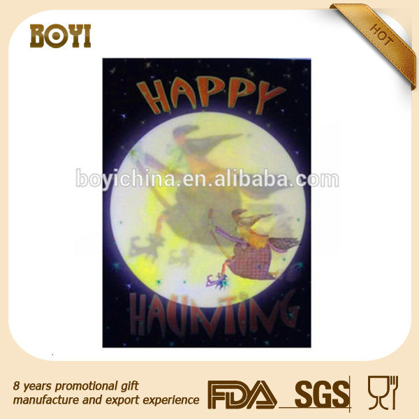 new products 3d printing festival Halloween poster with lenticular effect