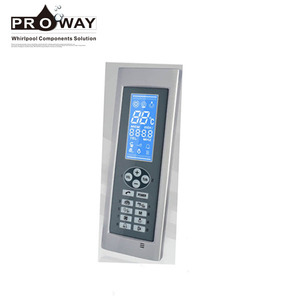 Sauna Room Waterproof Control Panel Remote Multi-function Steam Room Controller