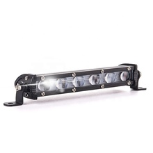 12 v led 알루미늄 18 W 빛 바 auto work lamp mini single 배 줄 car strip 빛 CTD-XDP-002-PTJ