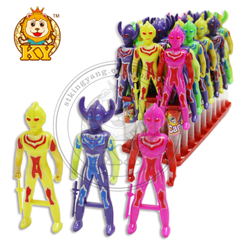 Small Ultraman Cartoon Toy Sweet Candy Buy Ultraman Toys Candy Toy