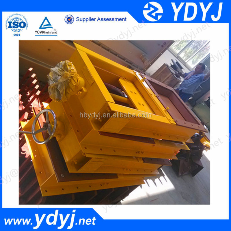 Manual wheeled flat plate insert plate valve