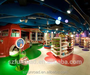 Children S Toys Shop Cash Counter For Toys Retail Shop Interior