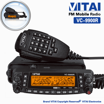 China Supplier VITAI VC-9900R 809 Channel CTCSS&DCS Cross-band Repeat Quad-Band Amateur HF/VHF/UHF Taxi Mobile Transceiver
