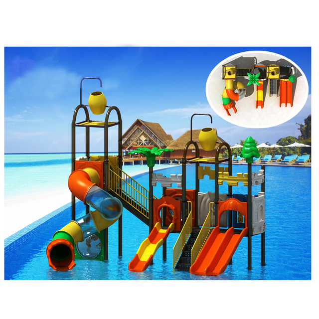 Safety high quality amusement park outdoor plastic water slide for adult HF-G140A