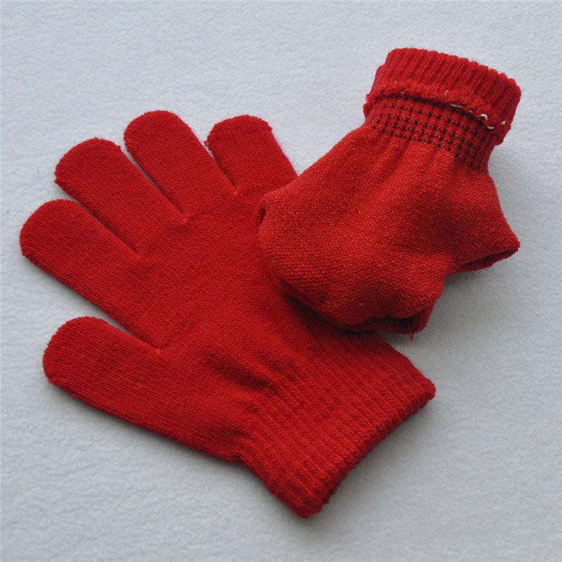 Wholesale- Kid Girl Boy Gloves Pick Blue Red Warm Winter