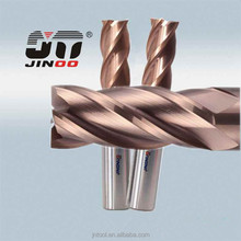 cnc milling cutter solid carbide end mills