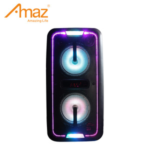 10inch best sound quality speaker with wireless mic for dancing and wedding