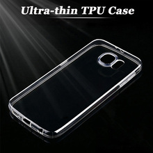 Ultra-thin Clear Silicon TPU Soft Cover Case For Phone Samsung S3/S4/S5/S6/Note 2/3/4/5/A3/A5/A7 Mobile phone cases