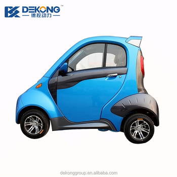 High Quality Battery Ed Street Legal 2 Seater Electric Mini Car